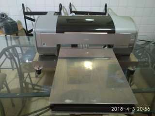 Direct to Garment Printer (Home Made Convertion)