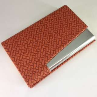 Name card holder with engraving service