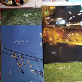 Agnes b folder