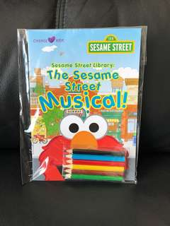 Sesame Street Library Activity Book