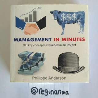 Management In Minutes - English Books Non-fiction
