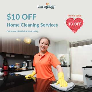 $10 OFF Home Cleaning Services