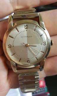Wittnauer Vintage Automatic 10kGF watch