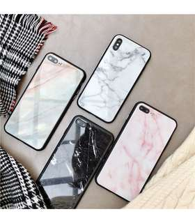 iPhone Marble Glass Case (FEMME)