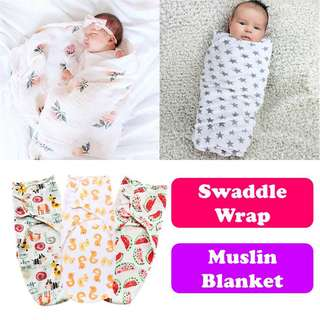 Baby Swaddle wrap full cotton