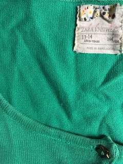 Outer sweater knitwear zara girls