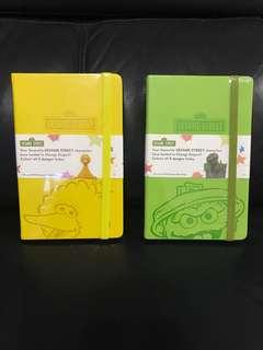 Sesame Street Mahrker Notebook