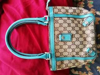 Gucci Monogram Mini Handbag