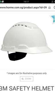 Helmet white 3M new
