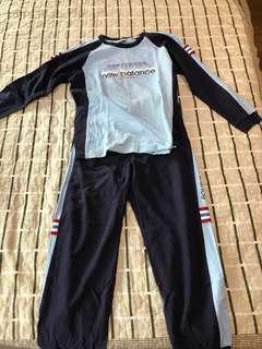 🚚 New Balance 100%純棉全套休閒服