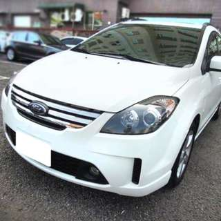 【購車無負擔‧買車夠保障】FORD 2008年  I-MAX 白色 七人頂級 2.0 服務實在 值得信賴