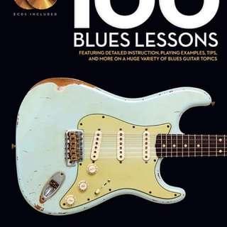 🚚 藍調 100課 100 blues lesson 電吉他 美版