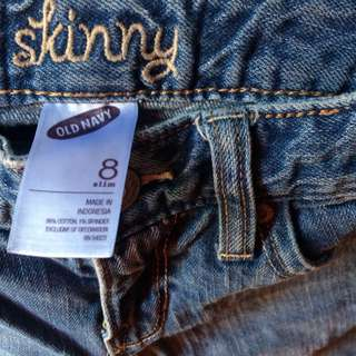 Old Navy Girls Skinny Jeans