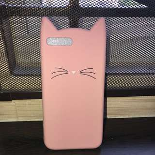 PINK KITTY CASE FOR IPHONE7+