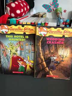 Pre-loved - Geronimo Stilton Children's Books