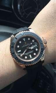 Rolex yatchmaster everose gold