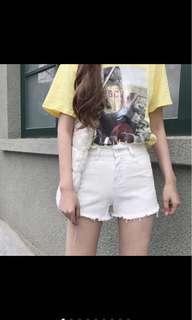 🚚 白短褲