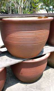 New clay pots