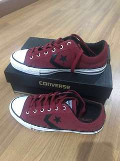 Star Player Leather converse