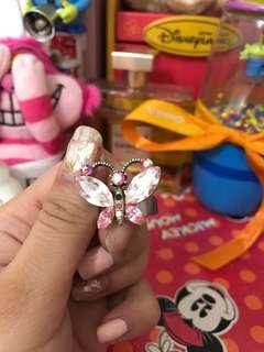 🚚 蝴蝶戒指