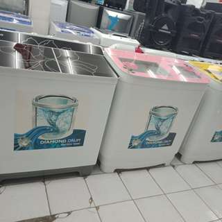 Mesin cuci denpoo murah bisa kredit tanpa KARTU KREDIT