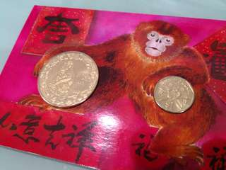 Singapore Mint Year Of Monkey