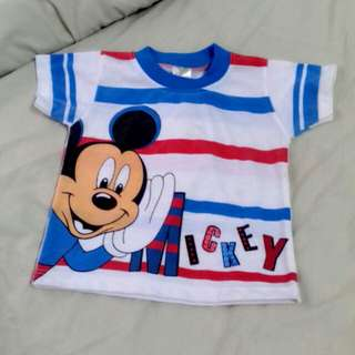 Baby T-shirt (Mickey Mouse)
