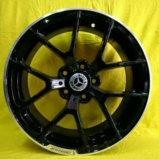 Velg HSR SLS AMG Ring 17 Mercy Civic Ertiga