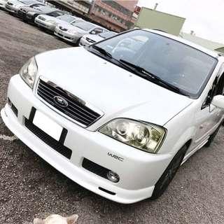 【購車無負擔‧買車夠保障】FORD 2004年 MAV 2.0 白色 頂級 服務實在 值得信賴