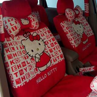 Cover jok mobil 18in1 Hello Kitty