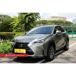 Toyota Lexus NX Hybrid Executive
