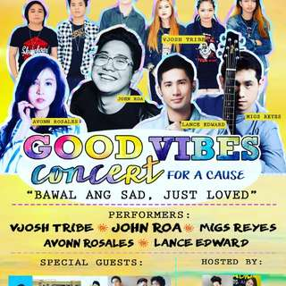 Good Vibes concert by J. ROA