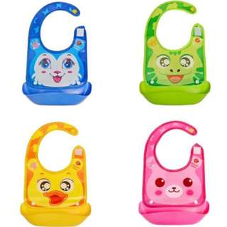 Soft Bib Animal Food Catcher