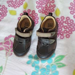 Clarks First Shoes For Boys