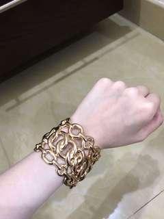 Forever 21 gold bracelet