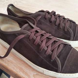 Common Project Brown Suede Shoe