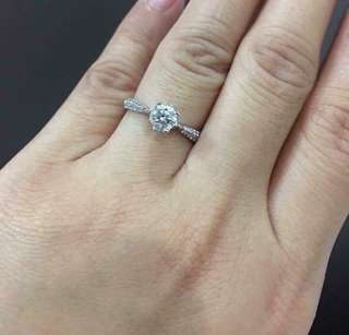 Tiffany Style Diamond Ring