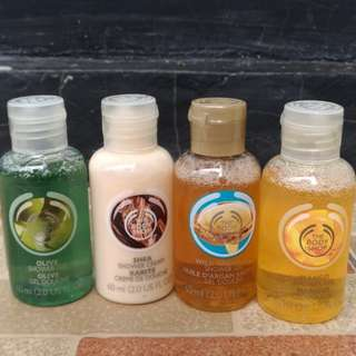 OBRAL!! The Body Shop Shower Gel Travel size