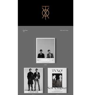 [PREORDER] TVXQ! (동방신기) - 8TH ALBUM / NEW CHAPTER #1 : THE CHANCE OF LOVE