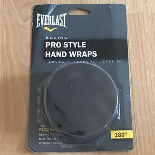 Everlast Muay thai boxing stretchable Hand wraps 5m