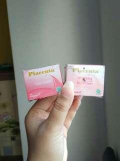 BISA BARTER❤ Paket Day and Night Cream Placenta