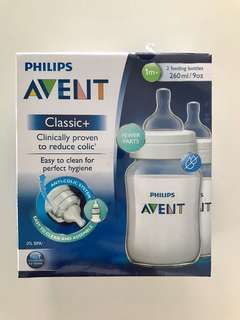 Philips Avent Feeding Bottles 260ml Twin pack