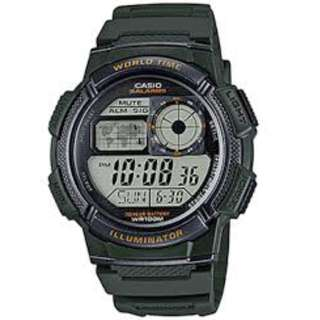 Casio AE-1000W-3A Green Watch for Men - COD FREE SHIPPING
