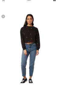 Insight denim light wash ripped jeans -Size 6