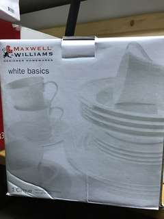 White western dinner set for 4(2 sets available)