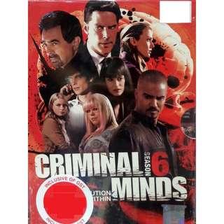 Criminal Minds Season 6 DVD (Imported)