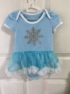 Baby girl dress/ baby Frozen dress romper