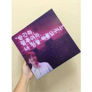 Tarpaulin Printing with Frame ( K-pop )