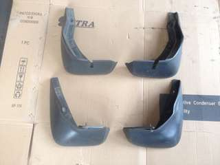 mudflap honda jazz fit gd
