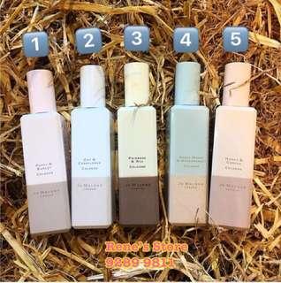 Jo Malone 2018年最新推出英國田園系列香水ENGLISH FIELDS 5 New Perfumes